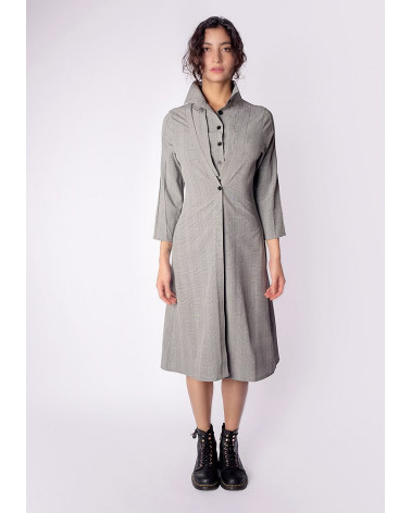 Association robe trench ADELE et chemise ANTOINE pour femme
